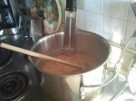 Caramels in the pan